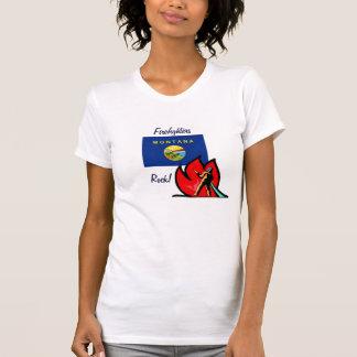 Montana Firefighters Rock T-Shirt