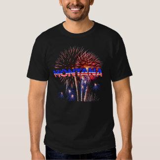 Montana Fireworks T Shirt