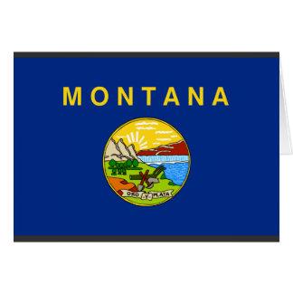 Montana Flag Card