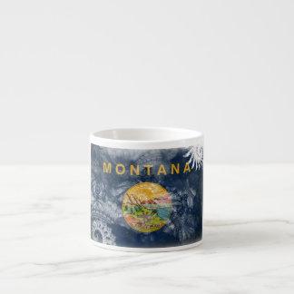 Montana Flag Espresso Cup