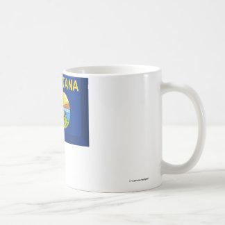 Montana Flag Gem Coffee Mug