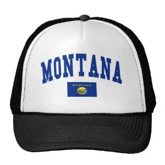 Montana Flag Trucker Hats