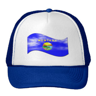 MONTANA FLAG MESH HATS