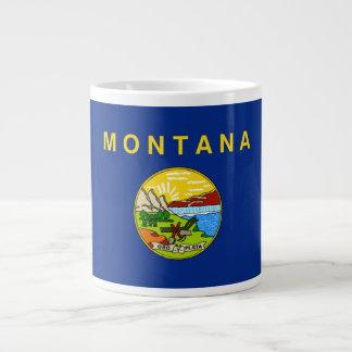 Montana Flag Large Coffee Mug