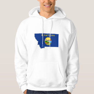 Montana Flag Map Pullover