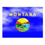 MONTANA FLAG POST CARDS