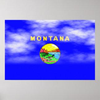 MONTANA FLAG PRINT