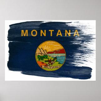 Montana Flag Posters