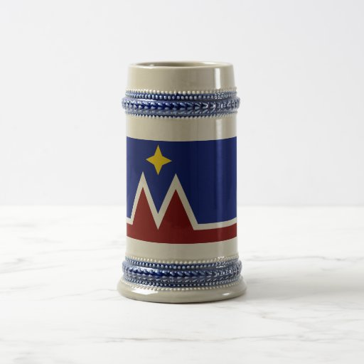 Montana Flag Proposal Beer Stein