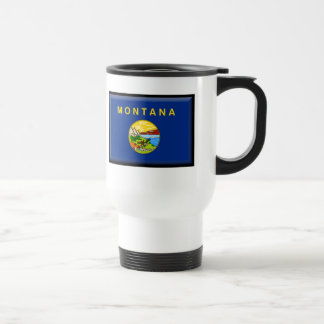 Montana Flag Travel Mug