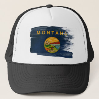 Montana Flag Trucker Hat