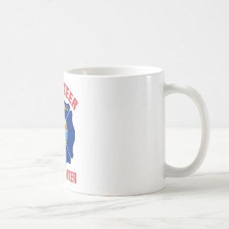 Montana Flag Volunteer Firefighter Cross Coffee Mug