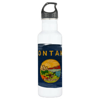 Montana Flag Water Bottle