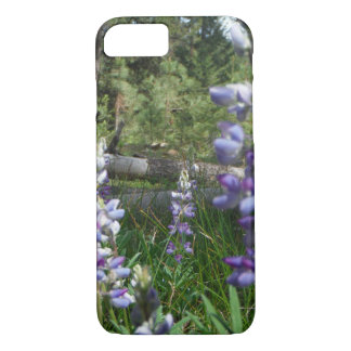 Montana Flowers - Mountain Lupine iPhone 8/7 Case
