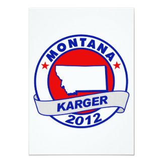 Montana Fred Karger Card