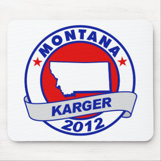 Montana Fred Karger Mouse Pad