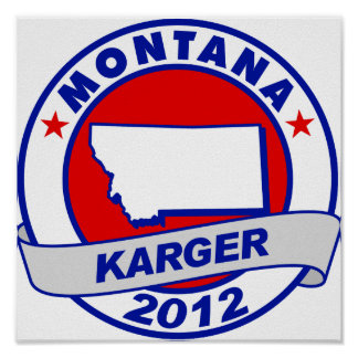 Montana Fred Karger Posters