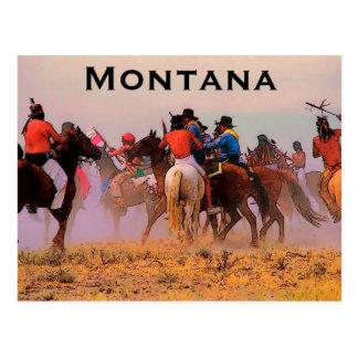 Montana Frontier Postcard