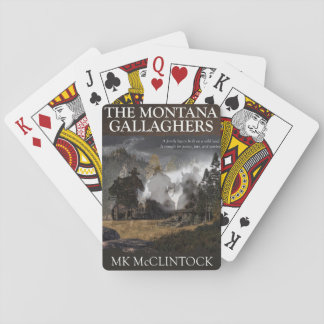 Montana Gallagher Playing Cards