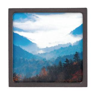 Montaña Gap Newfound gran Tennessee ahumado Caja De Recuerdo De Calidad