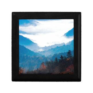 Montaña Gap Newfound gran Tennessee ahumado Cajas De Joyas