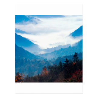 Montaña Gap Newfound gran Tennessee ahumado Tarjetas Postales