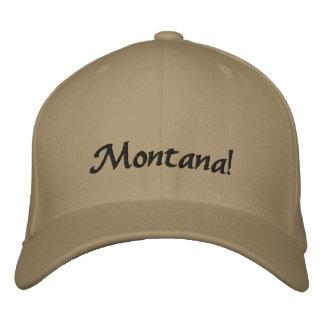 ¡Montana! Gorra bordado Gorros Bordados