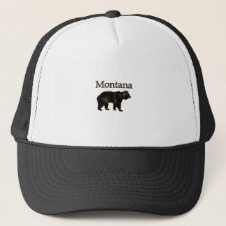Montana Grizzly Bear Trucker Hat