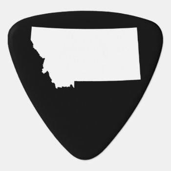 Montana Guitar Pick by silhouette_emporium at Zazzle