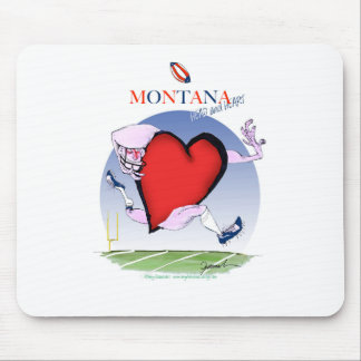 montana head heart, tony fernandes mouse pad