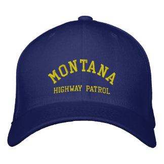 MONTANA, HIGHWAY PATROL BASEBALL CAP