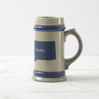 Montana home silhouette state map beer stein