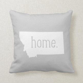 Montana Home State Throw Pillow