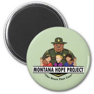Montana Hope Project magnet (teal)