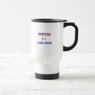 Montana is a Blue State Travel Mug