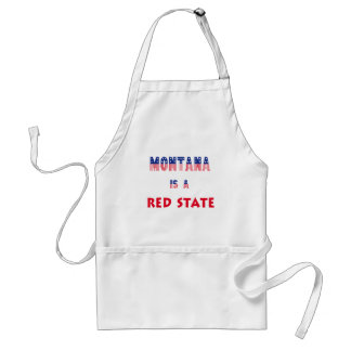 Montana is a Red State Apron