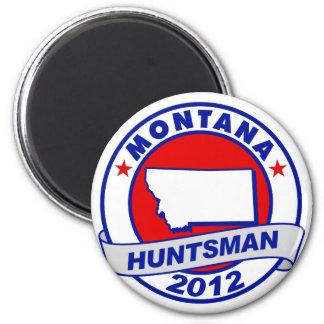 Montana Jon Huntsman 2 Inch Round Magnet