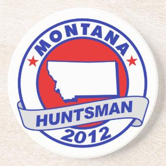 Montana Jon Huntsman Drink Coaster