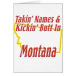 Montana - Kickin' Butt Card