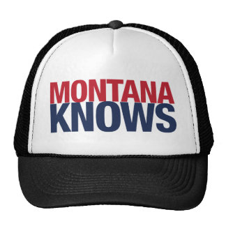 Montana Knows Trucker Hats