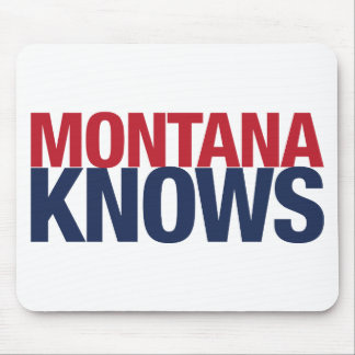 Montana Knows Mouse Pad