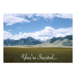 Montana Landscape Invitations