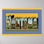 Montana Large Letter Greetings Print