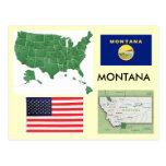 Montana, los E.E.U.U. Tarjetas Postales