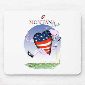 montana loud and proud, tony fernandes mouse pad