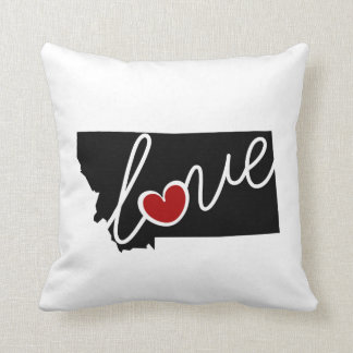 Montana Love!  Gifts for MT Lovers Throw Pillows