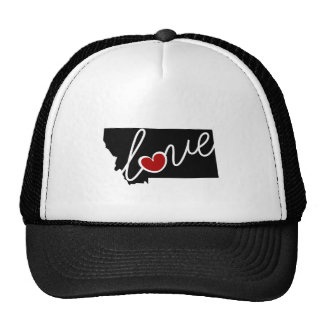 Montana Love!  Gifts for MT Lovers Trucker Hat