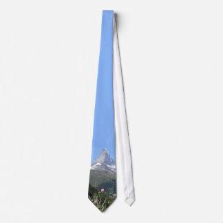 Montaña majestuosa de Cervino Corbatas