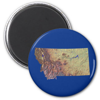 Montana Map Magnet