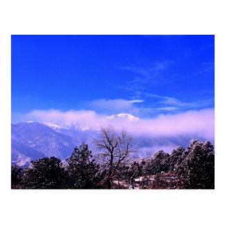 Montaña máxima de los lucios Colorado Springs CO Tarjetas Postales